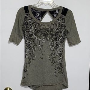 Maurices Premium Open Back Lace Top